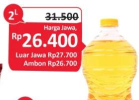 Promo Harga TROPICAL Minyak Goreng 2 ltr - Alfamidi