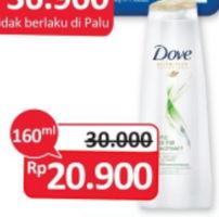 Promo Harga DOVE Shampoo 160 ml - Alfamidi