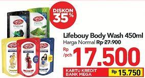 Promo Harga LIFEBUOY Body Wash 450 ml - Carrefour