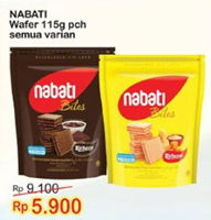 Promo Harga NABATI Richeese Wafer All Variants 115 gr - Indomaret