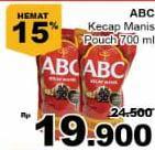 Promo Harga ABC Kecap Manis 700 ml - Giant