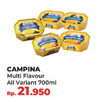 Promo Harga CAMPINA Ice Cream All Variants 700 ml - Yogya