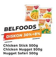 Promo Harga BELFOODS ROYAL Chicken Stick/ Nugget/ Safari 500gr  - Yogya