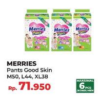 Promo Harga MERRIES Pants Good Skin M50, L44, XL38  - Yogya