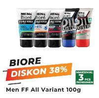 Promo Harga BIORE MENS Facial Foam All Variants 100 gr - Yogya