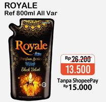 Promo Harga SO KLIN Royale Parfum Collection All Variants 800 ml - Alfamart