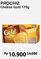 Promo Harga PROCHIZ Gold Cheddar 170 gr - Alfamart