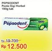 Promo Harga PEPSODENT Toothpaste Herbal 190 gr - Indomaret