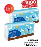 Promo Harga GUARDIAN Facial Tissue 200 pcs - Guardian