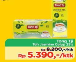 Promo Harga TONG TJI Teh Celup Melati 25 pcs - TIP TOP