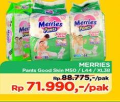 Promo Harga MERRIES Pants Good Skin M50, L44, XL38  - TIP TOP