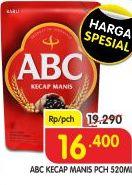 Promo Harga ABC Kecap Manis 520 ml - Superindo
