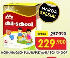 Promo Harga MORINAGA Chil School Gold 400 gr - Superindo