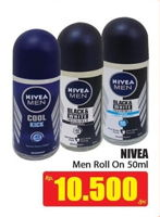 Promo Harga NIVEA MEN Deo Roll On 50 ml - Hari Hari