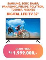 Promo Harga SAMSUNG SAMSUNG/SONY/SHARP/PANASONIC/PHILIPS/POLYTRON/TOSHIBA/HISENSE LED TV  - Electronic City