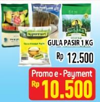 Promo Harga ANEKA GULA PASIR 1 kg - Hypermart