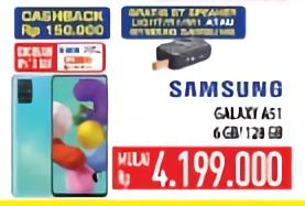 Promo Harga SAMSUNG Galaxy A51  - Hypermart