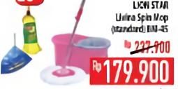 Promo Harga LION STAR Livina Spin Mop  - Hypermart