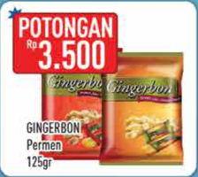 Promo Harga GINGERBON Permen 125 gr - Hypermart