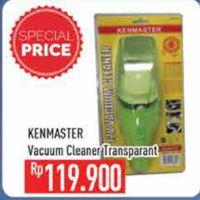 Promo Harga KENMASTER Vacum Cleaner Transparant  - Hypermart