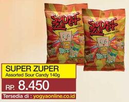 Promo Harga SUPER ZUPER Permen 140 gr - Yogya