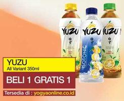 Promo Harga YUZU Minuman Teh All Variants 350 ml - Yogya