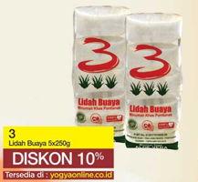 Promo Harga 3 TRISAN Lidah Buaya per 5 pouch 250 gr - Yogya