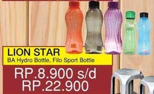 Promo Harga LION STAR Hydro Bottle / Filo Bottle  - Yogya