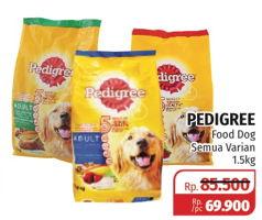 Promo Harga Pedigree Makanan Anjing All Variants 1500 Gr Lotte Grosir Hemat Id