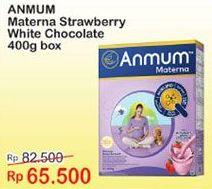 Promo Harga ANMUM Materna Strawberry White Chocolate 400 gr - Indomaret