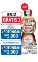 Promo Harga Good Day Coffee Drink Tiramisu Funtastic Mocacinno Cappucino Avocado Delight 250 Ml Alfamidi Hemat Id