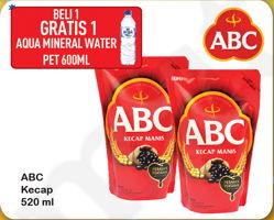 Promo Harga ABC Kecap Manis 520 ml - Hypermart