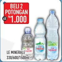 Promo Harga LE MINERALE LE MINERALE Air Mineral  - Hypermart