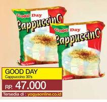 Promo Harga GOOD DAY Cappuccino per 30 sachet - Yogya