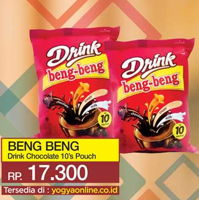 Promo Harga BENG-BENG Drink per 10 sachet - Yogya