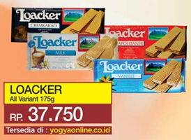 LOACKER Wafer All Variants 175 gr Harga Promo Rp37.750, Tersedia di: yogyaonline.co.id, Toserba Yogya & Griya