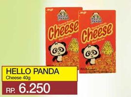 Promo Harga MEIJI HELLO PANDA Biscuit Cheese 40 gr - Yogya