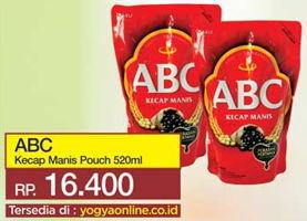 Promo Harga ABC Kecap Manis 520 ml - Yogya