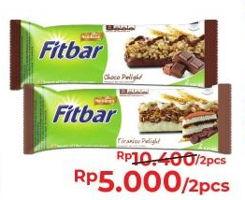 Promo Harga FITBAR Chocolate/Fruits 24g / Tiramisu 22g  - Alfamart