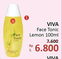 Promo Harga VIVA Face Tonic Lemon 100 ml - Alfamidi