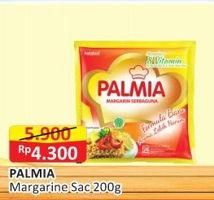 Promo Harga PALMIA Margarin Serbaguna 200 gr - Alfamart