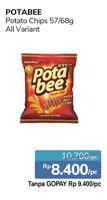 Promo Harga POTABEE POTABEE Snack Potato Chips  - Alfamidi