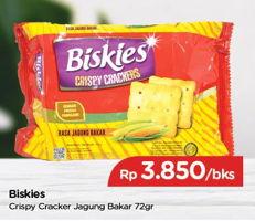 Promo Harga MUNCHYS Biskies Crispy Crackers Jagung Bakar 72 gr - TIP TOP