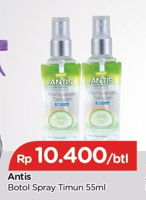 Promo Harga ANTIS Hand Sanitizer Timun 55 ml - TIP TOP