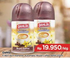 Promo Harga DAHLIA Freshgo Matic Royal Coffe 225 ml - TIP TOP