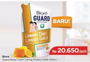 Promo Harga BIORE Guard Body Foam Caring Protect 450 ml - TIP TOP
