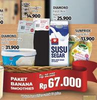 Promo Harga DIAMOND Paket Banana Smoothies  - Lotte Grosir