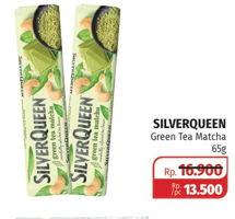 Promo Harga SILVER QUEEN Chocolate Green Tea 65 gr - Lotte Grosir