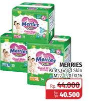 Promo Harga MERRIES Pants Good Skin M22, L20, XL16  - Lotte Grosir