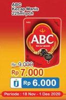 Promo Harga ABC Kecap Manis 225 ml - Indomaret